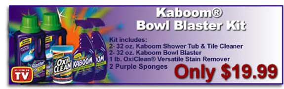 Kaboom Bowl Blaster Kit As Seen On Tv Products 4 Less Www