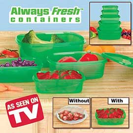 Always Fresh Containers 2 for 1