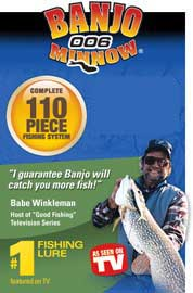 Banjo Minnow 110 pc