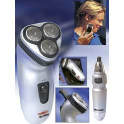 bell howell tritek shaver trimmer as seen on tv products 4 less. Black Bedroom Furniture Sets. Home Design Ideas