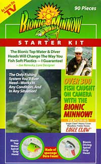 Bionic Minnow 90 pc Starter Kit