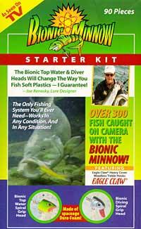 Bionic Minnow 90 pc Starter Kit