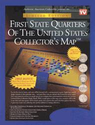 First State Quarters Collectors Map
