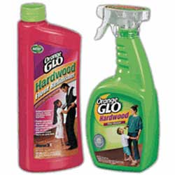 Orange Glo Hardwood Floor Refinisher And Cleaner Set