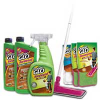 Orange Glo Hardwood Floor Cleaner and Polish System