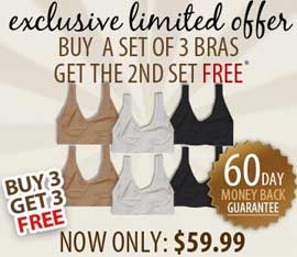0388261c55 Genie Bra Buy 3 get 3 FREE AS SEEN ON TV Products