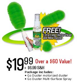 GO DUSTER SET