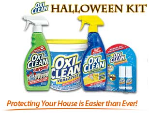 Oxiclean Holloween Kit