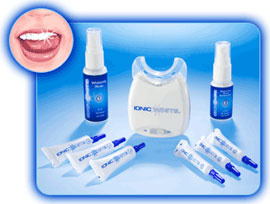 Ionic White Teeth Whitening System