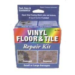 Liquid Leather Vinyl Floor & Tile Repair Kit