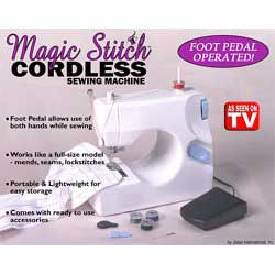 Magic Stitch Sewing Machine w AC Adapter