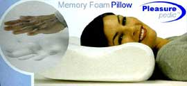 Memory Foam Pillow by Pleasure Pedic