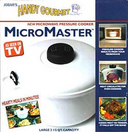 Micro Master Pressure Cooker