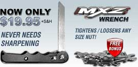 MXZ Saw Plus Bonus Wrench Set