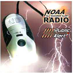 Weatherband NOAA Radio Cell Phone Charger and Dynamo Flashlight