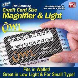 Owl Illuminated Magnifier