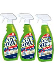Oxiclean Carpet Spot Remover 3 Cans
