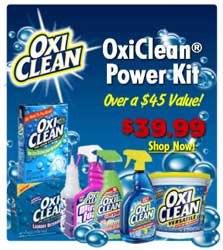OxiClean Power Kit