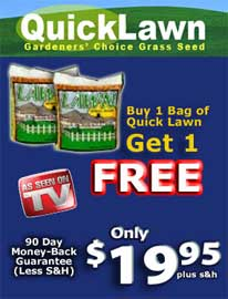 Quick Lawns 2 for 1
