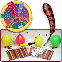 Rocket Balloons 80pc Set