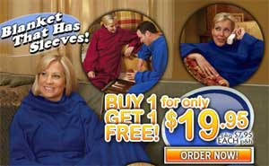 Snuggie 2 for 1