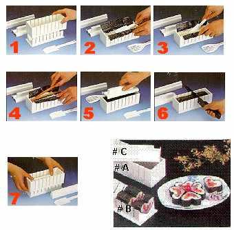 Sushi Maker 5 in 1 Mold