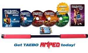 Billy Blanks Tae Bo AMPED System