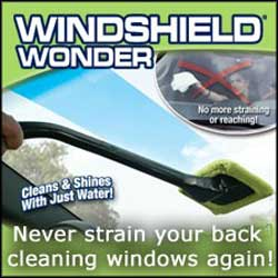 Windshield Wonder 2 for 1