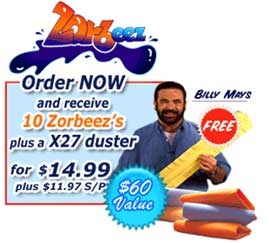 Zorbeez Double Offer Free X27 Duster