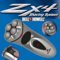 Bell & Howell ZX4 Shaving System